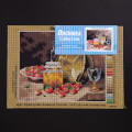 Orchidea 24x30cm Printed Gobelin, Still Life with Strawberries - 2857H