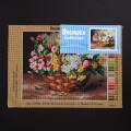 Orchidea 24x30cm Printed Gobelin, Alfred Arthur Brunel de Neuville - A Basket of Flowers - 2903H
