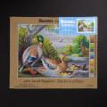 ORCHİDEA 30 x 40 cm Nehirdeki Ördekler Baskılı Goblen 2955J