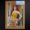 ORCHİDEA 40 x 60 cm Arap Güzelliği Baskılı Goblen 2971Q