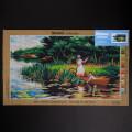 ORCHİDEA 40 x 70 cm Nehirde Gezii Baskılı Goblen 2951R