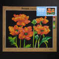 Orchidea 40x50cm Printed Gobelin, Red Poppies - 2952M