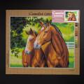 Orchidea 40x50cm Printed Gobelin, Horses - C105M