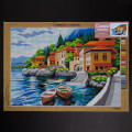 Orchidea 50x70cm Printed Gobelin, City by the Sea - C106R