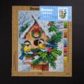 ORCHİDEA 30 x 40 cm Yuvadaki Kuşlar Baskılı Goblen 2994J