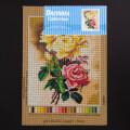Orchidea 24x30cm Printed Gobelin, Paul de Longpre - Roses - 3001H