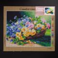 Orchidea 40x50cm Printed Gobelin, Flowers - C115M
