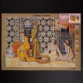 ORCHİDEA 50 x 70 cm Kadınlar Baskılı Goblen C120R