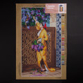 Orchidea 40x70cm Printed Gobelin, Osman Hamdi Bey - Woman Picking Liliac - C122R