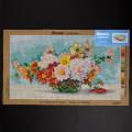 ORCHİDEA 40 x 70 cm Vazodaki Çiçekler Baskılı Goblen 3086R