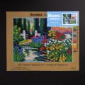 ORCHİDEA 30 x 40 cm Mutluluk Bahçesi Baskılı Goblen 3110J