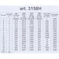ORCHİDEA 24 x 30 cm İpekkuyruk Kuşu Baskılı Goblen 3158H