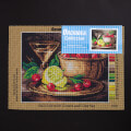 Orchidea 24x30cm Printed Gobelin, Still Life with Lemon and Cherries - 2224H