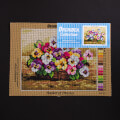 Orchidea 24x30cm Printed Gobelin, Basket of Pansies - 2213H