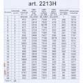 ORCHİDEA 24 x 30 cm Hercai Menekşe Sepeti Baskılı Goblen 2213H