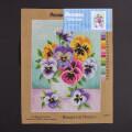 Orchidea 30x40cm Vazoda Çiçekler Baskılı Goblen - 1767J