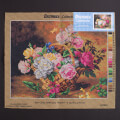 Orchidea 40x50cm Printed Gobelin, Jules Ferdinand Medard - A Basket of Roses - 2234M
