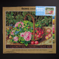 Orchidea 40x50cm Printed Gobelin, Christine Lövmand - Basket with Fruits and Flowers - 2263M