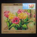 Orchidea 40x50cm Printed Gobelin, Tulips Bouquet - 2248M