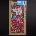 Orchidea 30x70cm Printed Gobelin, Alphonse Mucha - Ametyst - 2427Q