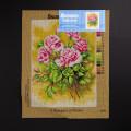 ORCHİDEA 30 x 40 cm Gül Buketi Baskılı Goblen 2464J