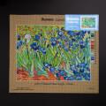 Orchidea 36x48cm Printed Gobelin, Vincent van Gogh - Irises - 1202M
