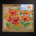 Orchidea 40x50cm Printed Gobelin, Red Poppies -2535M