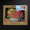 Orchidea 30x40cm Printed Gobelin, Bouquet of Spring Tulips - 2566J