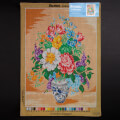 Orchidea 50x70cm Printed Gobelin, Colorful Bouquet - 1712R