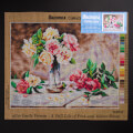 Orchidea 40x50cm Printed Gobelin, Emile Vernon - Still Life of Pink and Yellow Roses - 2602M