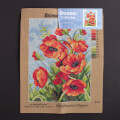 Orchidea 30x40cm Printed Gobelin, Wildflowers Poppies - 2626J