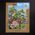 ORCHİDEA 30 x 40 cm Kuş Yuvası Baskılı Goblen 2656J