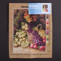 Orchidea 30x40cm Printed Gobelin, George Clare - Still Life with Apples, Grapes, Plums - 2671J