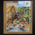 Orchidea 40x50cm Printed Gobelin, Myles Birket Foster - An Old Water Mill - 2672M