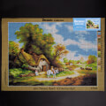 Orchidea 50x70cm Printed Gobelin, Thomas Hand - A country Idyll - 2711R