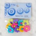 Dress It Up Creative Button Assortment, Button Fun -2242