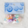 Dress It Up Creative Button Assortment, Twisted Pops