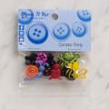 Dress It Up Creative Button Assortment, Garden Party - 4672