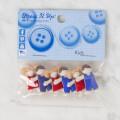 Dress It Up Çocuk Desenli Dekoratif Düğme - 5422