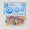 Dress It Up Creative Button Assortment, The Birds And The Bees
