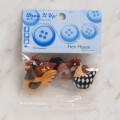 Dress It Up Creative Button Assortment, Hen House - 8295