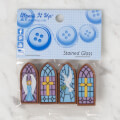 Dress It Up Creative Button Assortment, Stained Glass