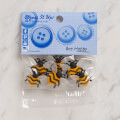 Dress It Up Creative Button Assortment, Bee Happy - 9382