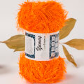 Kartopu 5 Skeins Yumos Knitting Yarn, Orange - K205