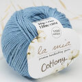 La Mia Cottony Baby Yarn, Blue - P9-L009