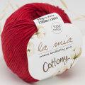 La Mia Cottony Baby Yarn, Claret - P5