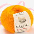 Gazzal Baby Wool Baby Yarn, Orange - 837