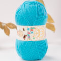 Madame Tricote Paris Lux Baby Knitting Yarn, Blue - 23-3010