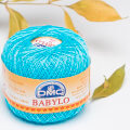 Dmc Babylo 50gr Cotton crochet thread No:10, Turqoise - 3846