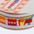 Sticker Ribbon Tren Baskılı Yapışkan Kurdele - SR-1697